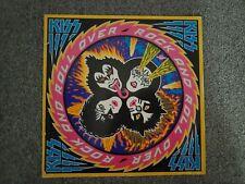 KISS - Rock And Roll Over,  1977 UK Press PYE Black Vinyl, CALD 2001