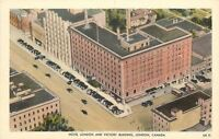 London Ontario~Hotel London & Victory Building~Rooftop View~1940s