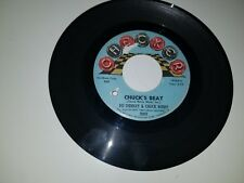 "CHUCK BERRY Chuck's Beat BO DIDDLEY Bo's Beat CHECKER 1089 45 VINYL 7"" RECORD"