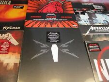 METALLICA COLLECTION LIMITED EDITION RARE USA PRESSED 8 TITLES 23 SIDES OF VINYL
