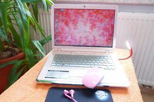 Sony Vaio CR21S Rosa Pink Lady Rose l 14 Zoll XBlack HD l AKKU NEU l XL EXTRAS