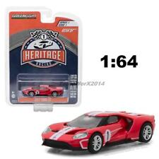 GREENLIGHT 13200 D HERITAGE RACING 2017 FORD GT 40 MKII #1 DIECAST CAR 1:64 RED