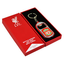 LIVERPOOL FC BOTTLE OPENER KEYRINGS WITH TORCH KEY RING KEYCHAIN XMAS GIFT NEW