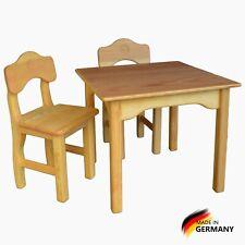 Kindertisch klein, Kindermöbel, Massiv Holz,