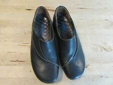 Wolky Women's Black Leather Slip On Shoes Size 36 US 5