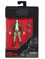 Star Wars The Black Series Captain Cassian Andor 3 3/4 Inch Action Figure - NEW!