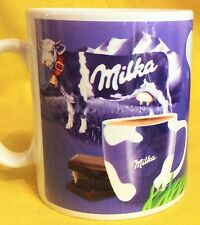 TASSIMO MILKA COW ADVERT LOGO - ADVERTISEMENT- ON A MUG