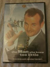 THE MAN WHO KNEW TOO LITTLE NEW DVD