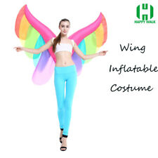 NEW Adults Inflatable Wing Butterfly Costume Suits Dress Outfit Cosplay Festival