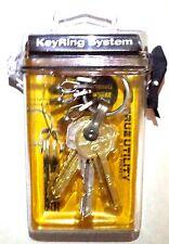 True Utility Key Ring System/ Keychain in Dry box, Great Stocking Stuffer #TU245