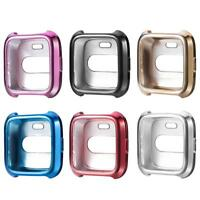 TPU Silicone Protective Cover Case Watch Housing Guard for Fitbit Versa