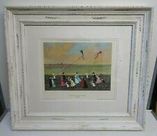 "HELEN BRADLEY ""On Windy Days We Went To Lytham"" Framed Limited Print"