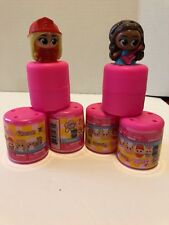 Barbie Fashems Series 1 Super Squishy  Bag Capsule Toy Lot of 4 BRAND NEW