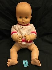 """VINTAGE EFFANBEE BABY DOLL 15 56 71 1967 17"""" tall Infant No Sound"""