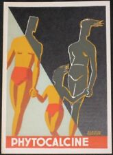 Alain Carrier/Artist-Signed 1940s French Advertising Poster, 'Phytocalcine'
