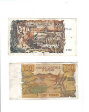 Algeria Algerie Billet 100 Dinars 1970 P128 GAZELLE BON ETAT