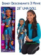 Disney Descendants 3 Movie 28-inch UMA DOLL My Size Villain Exclusive GIFT SET