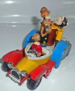 Corgi 802 Popeye Paddle Wagon VINTAGE DIECAST MODEL