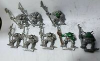 Warhammer Games Workshop ORC trooper x8 metal oop slotta Regiments of Renown OR7
