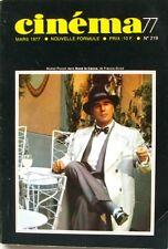 Cinéma 77 n°219 - 1977 - Straub Huillet - Raymond Bussieres - Dirk Bogarde