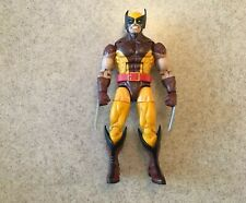 Marvel Legends Wolverine Vintage Hasbro X-Men Jim Lee Brown Action Figure Loose