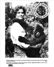 OSCAR nominated Sigourney Weaver GORILLAS IN THE MIST: The Story of Dian Fossey