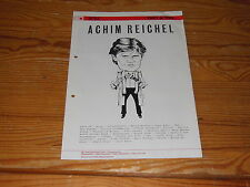 METRONOME 3/83 / 26 PAGE PROMO-HEFT MIT A. REICHEL CATS TV, BANANARAMA, DE BLANC