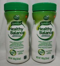 2 Benefiber Healthy Balance Prebiotic Fiber Digestive Support~3.5oz Eac~Exp 3/21