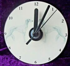 More details for saluki cd clock by curiosity crafts