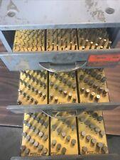 Ekonogage Pin Gage Set In 3 Draw Storage Cabinet 028 To 502 Model A 1966