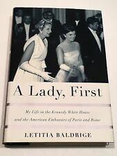 LETITIA BALDRIGE SIGNED A Lady, First BOOK 2001