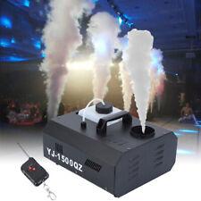 Nebelmaschine DMX Vertikal 1500 Watt Fogger Fog Machine mit Fernbedienung
