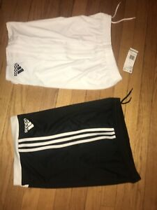 Nwt Lot Youth Large Adidas Shorts- Black & White