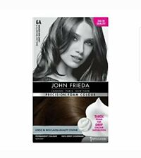 John Frieda Precision Foam Colour Hair Dye, Number 6A, Light Ash Brown