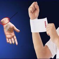 Wrist Knee Wraps Sports Wrist Bandage Strap Weight Lifting Support Wristband G9Z
