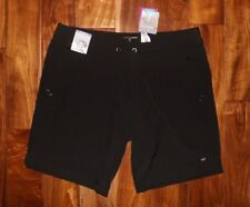 NWT Womens FREE COUNTRY Black Active Board Bermuda Shorts Sz Small 4-6