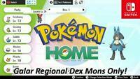 Pokemon Sword and Shield Galar and Isle of Armor Pokedex  900+ Pokemons