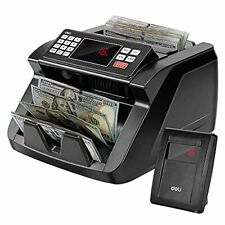 New Listingdeli Money Counter Bill Counting Machine With Uvmgir Counterfeit Detection