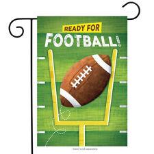 "Ready for Football Garden Flag Fall Touchdown Sports 12.5"" x 18"" Briarwood Lane"