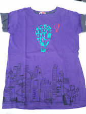 Tshirt garçon violet DPAM 8 ans comme neuf