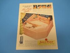 1948 Neo-Angle Bath! American-Standard First in Heating and Plumbing, PA009