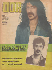 MAGAZINE OOR 1980 nr. 16 - FRANK ZAPPA / MO-DETTES / NEW MUSIK / JOHNNY G