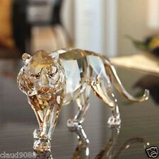 "SWAROVSKI SILVER CRYSTAL 2010 TIGER ANNUAL S.C.S. MEMBERS FIGURINE"" 1003148  MIB"
