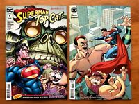 Superman Top Cat Special 1 Main + Emanuela Lupacchino Variant Set DC 2018 NM+