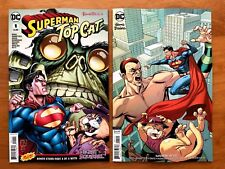 Superman Top Cat Special 1 Main + Emanuela Lupacchino Variant Set DC 2018 NM+
