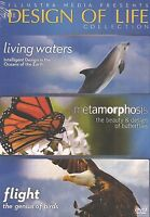 The Design of Life Collection Living Waters Metamorphosis and Flight 3 DVDs