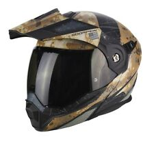 Helmet flip up Scorpion Adx-1 battleflage XL casque modular adventure touring