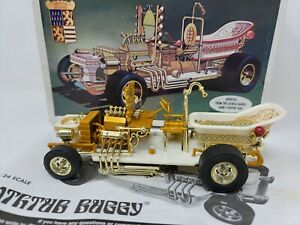 BATHTUB BUGGY GEORGE BARRIS MONOGRAM MODEL CAR KIT IN THE BOX JUNKYARD #85-6744