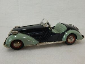 Distler BMW D-3150 Convertible 50s Tin Wind Up Clockwork Toy Car US Zone Germany
