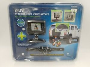 New Shift 3 Wireless Rear View Camera and LCD Monitor Safety System
